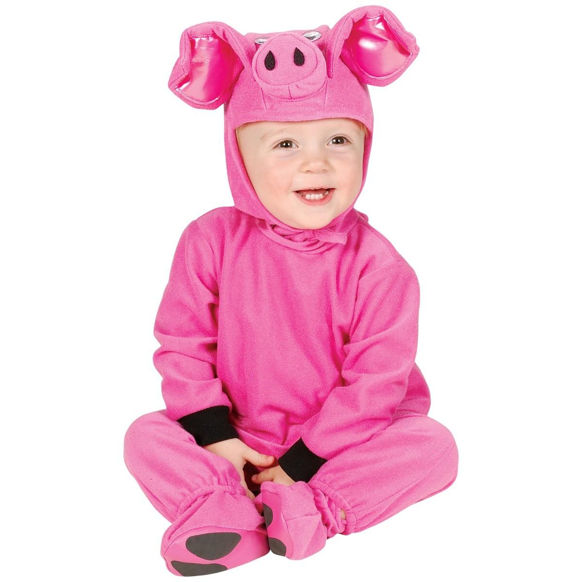 fb0e0d8c82ff3 子ぶた 着ぐるみ きぐるみ キャラクター きぐるみ ベビー用 ハロウィン コスチューム パジャマ 衣装