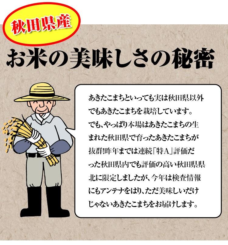 秋田県産お米のおいしさの秘密