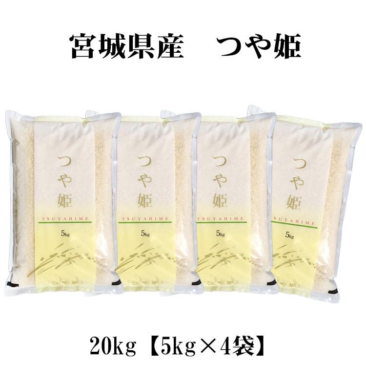 宮城米 つや姫20kg