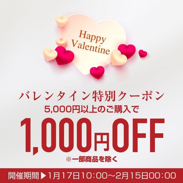 ★5,000円以上購入で1,000円OFF★バレンタインクーポン