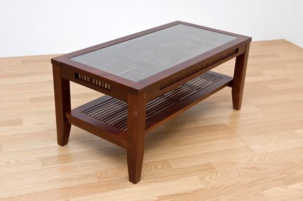 アジアンセンターテーブル