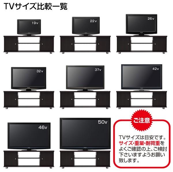 テレビサイズ別使用イメージ
