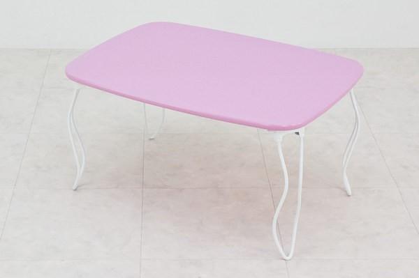 猫脚折りたたみローテーブル、ミストラルテーブル
