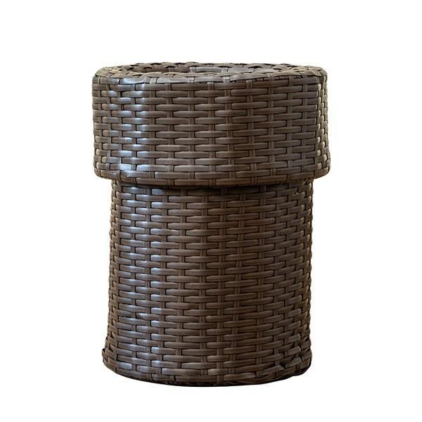 ゴミ箱 ごみ箱 ラタン調ダストボックス TMR-11|adhoc-style|13