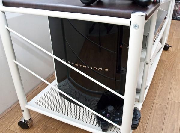 PS3の縦置きもできます
