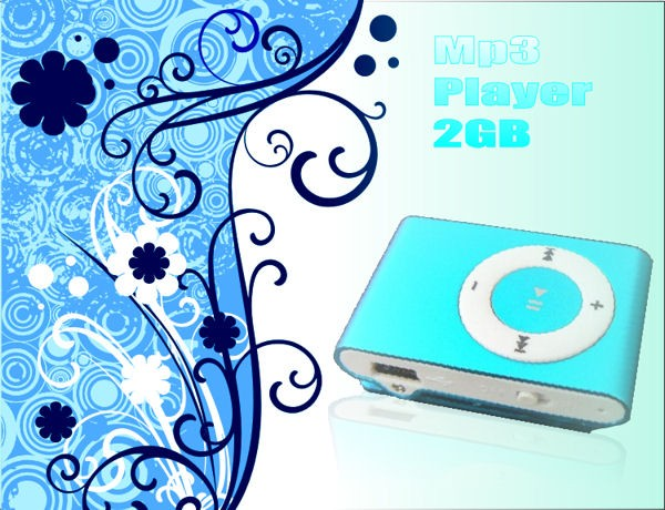 2GB MP3プレーヤー mp3player