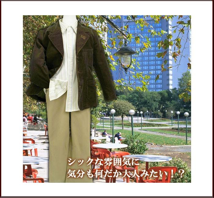 男の子 シックでおしゃれな英国紳士風フォーマル映えジャケットです。