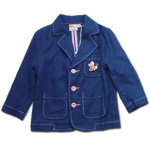 ジャケット 男の子 子供服 春夏 日々楽しみ 刺繍が可愛いポップカラー(濠Du)85cm 95cm 100cm 110cm|adorable|11