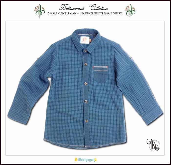 実用性と動きやすさを備えた異なるチェック柄が配色されたかっこいい長袖ロールアップシャツ