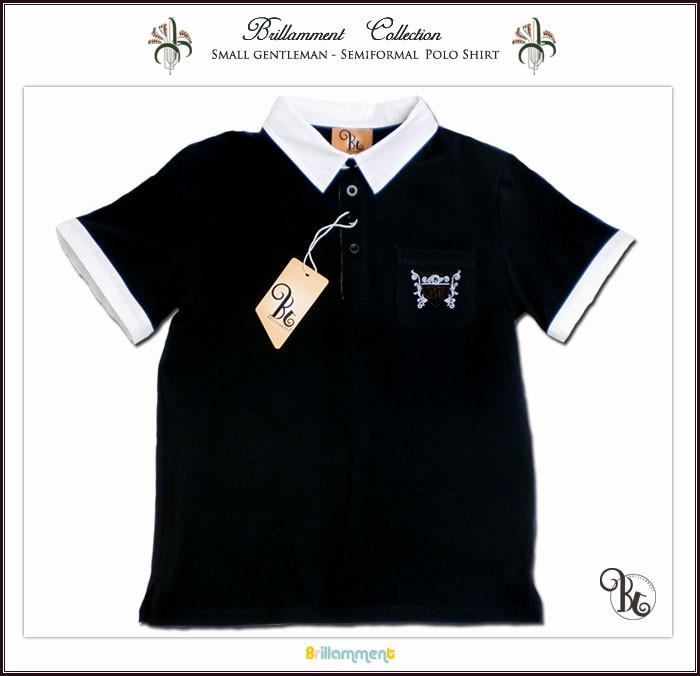 実用性と動きやすさを備えた刺繍入りフォーマルに映える高級感あるニット半袖ポロシャツ
