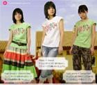 【子供服】【NEW】夏に嬉しいリゾートオーソドックスな可愛い短袖Tシャツ(濠Me)