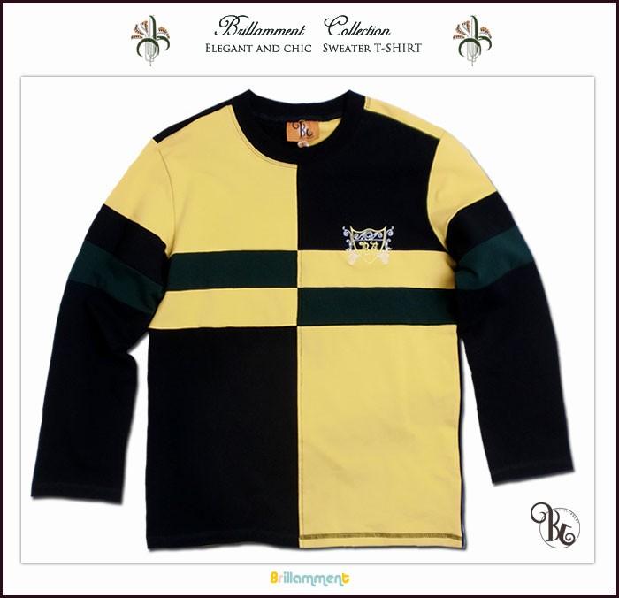 実用性と 動きやすさを備えた刺繍入りフォーマルに映える高級感長袖ポロシャツ