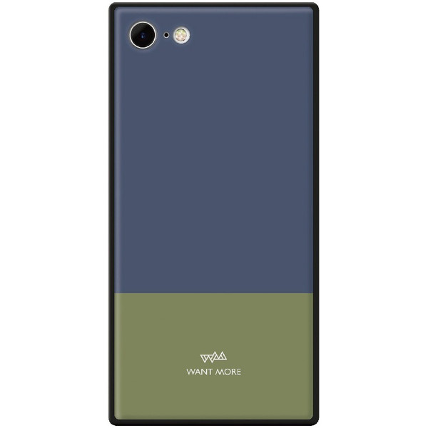 iPhone XR ケース iPhone XS ケース iPhone 11 ケース iPhone 11 Pro XS Max X 8 7 8Plus 7Plus ケース ガラス 四角 バイカラー NEMO|advan|24