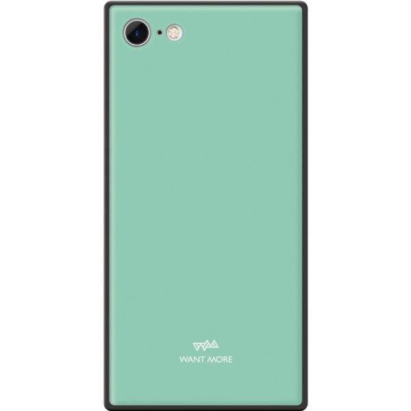 iPhone11 ケース スクエア iPhone8 ケース iPhone11Pro ケース iPhone XR ケース iPhone  XS XSMax X 8 7 8Plus 7Plus ケース ガラス 四角 カラー NEMO|advan|25