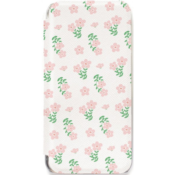 iPhone11 ケース カード収納 iPhone8 ケース iPhone 11 Pro XS X 7 8Plus 7Plus 6s 6 6sPlus 6Plus ケース 手帳型 クリア 花柄 PataPata advan 14