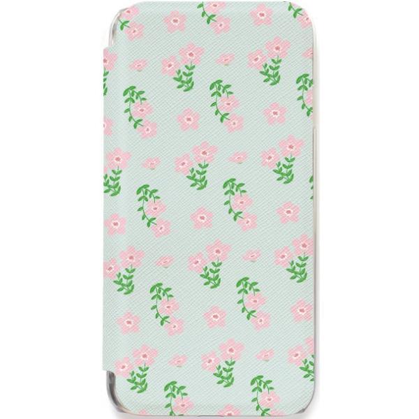 iPhone11 ケース カード収納 iPhone8 ケース iPhone 11 Pro XS X 7 8Plus 7Plus 6s 6 6sPlus 6Plus ケース 手帳型 クリア 花柄 PataPata advan 15
