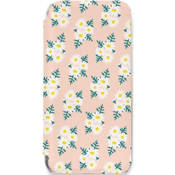 iPhone11 ケース カード収納 iPhone8 ケース iPhone 11 Pro XS X 7 8Plus 7Plus 6s 6 6sPlus 6Plus ケース 手帳型 クリア 花柄 PataPata advan 17