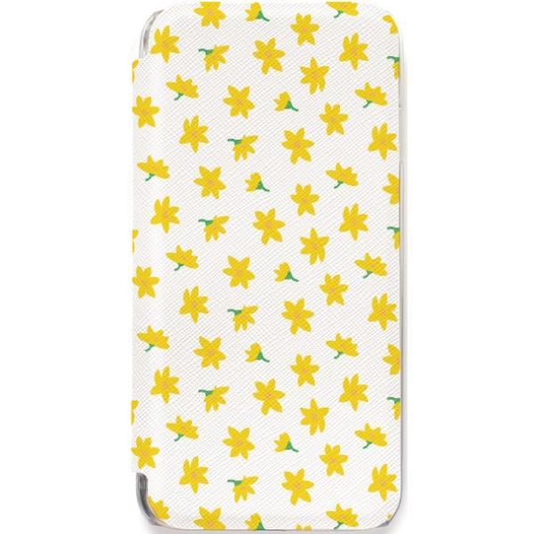 iPhone11 ケース カード収納 iPhone8 ケース iPhone 11 Pro XS X 7 8Plus 7Plus 6s 6 6sPlus 6Plus ケース 手帳型 クリア 花柄 PataPata advan 23