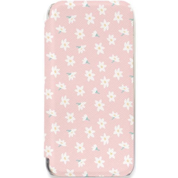 iPhone11 ケース カード収納 iPhone8 ケース iPhone 11 Pro XS X 7 8Plus 7Plus 6s 6 6sPlus 6Plus ケース 手帳型 クリア 花柄 PataPata advan 25