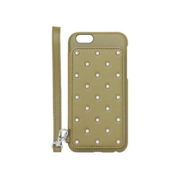 1000円ポッキリ iPhone6s iPhone6 ケース カード背面収納 スタッズ 鏡付き advan 12