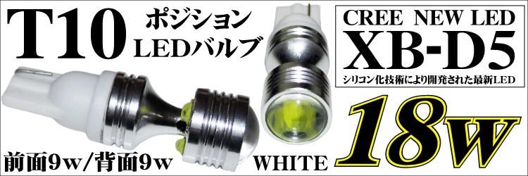 T10 ALL CREE ポジションバルブ¥4280