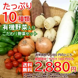 有機野菜入り野菜セット