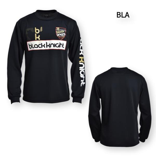 2019最新作 ラックナイト BLACK KNIGHT バドミントン スカッシュ  ユニ ウェア  長袖プラクティスシャツ Tシャツ プラシャツ T-9250|aimagain|09