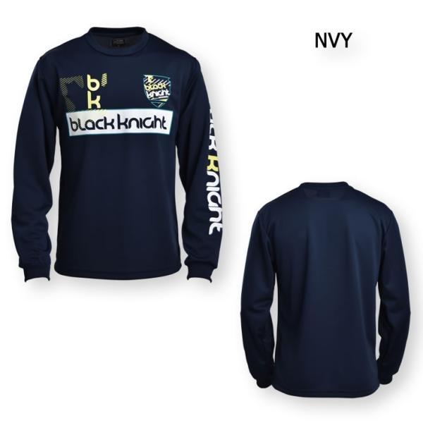 2019最新作 ラックナイト BLACK KNIGHT バドミントン スカッシュ  ユニ ウェア  長袖プラクティスシャツ Tシャツ プラシャツ T-9250|aimagain|10