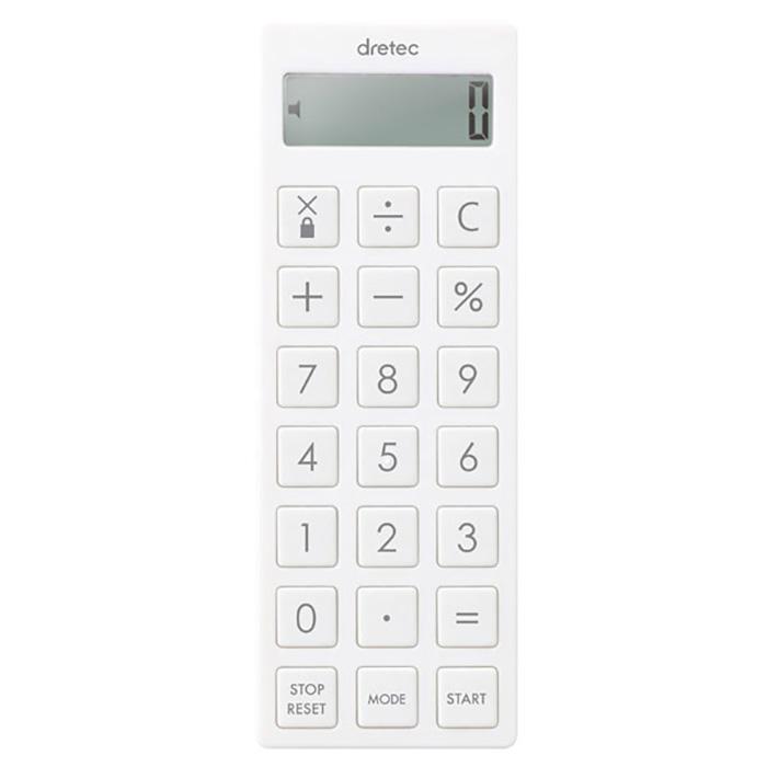 コンパクト 電卓 ネックストラップ付 タイマー アラーム バイブ機能搭載 - aimcube画像4