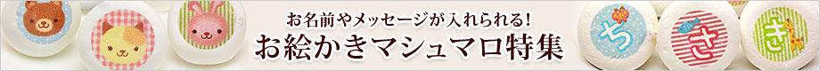日本ロイヤルガストロ倶楽部 厳選「名入れ・メッセージ入れ お絵かきマシュマロ特集」