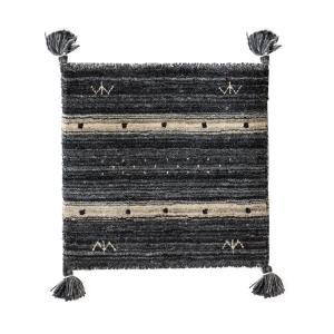 チェアパッド 四角 40 おしゃれ チェアクッション 座布団 クッション シートクッション 椅子用 かわいい ギャッベ エスニック 柄 ギャッベチェアパッド|air-r|18