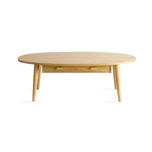 ローテーブル リビングテーブル センターテーブル 収納 引き出し おしゃれ 北欧 モダン 木製 ウォールナット シンプル モダン 収納付きテーブル 110cm幅|air-r|12