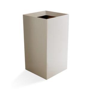 ゴミ箱 おしゃれ ダストボックス リビング 角型 ごみ箱 シンプル モダン 9L かわいい シンプル 北欧 インテリア 雑貨 ゴミ袋が見えない air-r 09