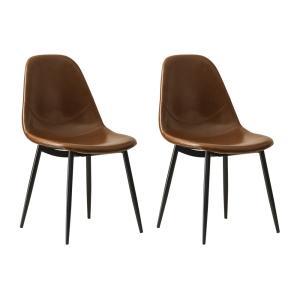 ダイニングチェア 2脚 おしゃれ レザー 椅子 ヴィンテージ インダストリアル ブルックリン カフェ 食卓椅子 ダイニングチェアー|air-r|20