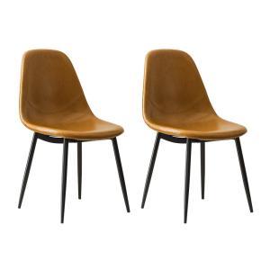 ダイニングチェア 2脚 おしゃれ レザー 椅子 ヴィンテージ インダストリアル ブルックリン カフェ 食卓椅子 ダイニングチェアー|air-r|22