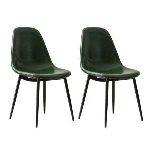 ダイニングチェア 2脚 おしゃれ レザー 椅子 ヴィンテージ インダストリアル ブルックリン カフェ 食卓椅子 ダイニングチェアー|air-r|21