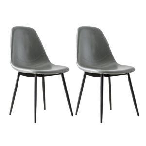 ダイニングチェア 2脚 おしゃれ レザー 椅子 ヴィンテージ インダストリアル ブルックリン カフェ 食卓椅子 ダイニングチェアー|air-r|19