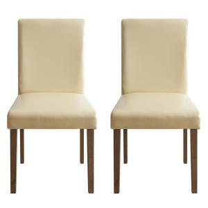 ダイニングチェア 2脚 おしゃれ 木製 肘なし ダイニングチェアー 椅子 ファブリック 北欧 カフェ シンプル 食卓椅子|air-r|30
