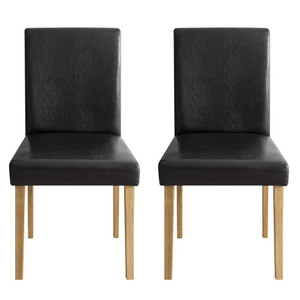 ダイニングチェア 2脚 おしゃれ 木製 肘なし ダイニングチェアー 椅子 ファブリック 北欧 カフェ シンプル 食卓椅子|air-r|24