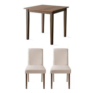 ダイニングテーブルセット 2人用 3点 木製 おしゃれ ダイニングセット 二人用 北欧 モダン カフェ ナチュラル 食卓テーブルセット air-r 23