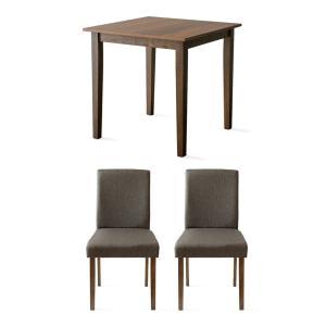 ダイニングテーブルセット 2人用 3点 木製 おしゃれ ダイニングセット 二人用 北欧 モダン カフェ ナチュラル 食卓テーブルセット air-r 22