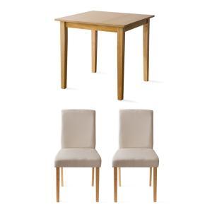 ダイニングテーブルセット 2人用 3点 木製 おしゃれ ダイニングセット 二人用 北欧 モダン カフェ ナチュラル 食卓テーブルセット air-r 28