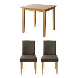 ダイニングテーブルセット 2人用 3点 木製 おしゃれ ダイニングセット 二人用 北欧 モダン カフェ ナチュラル 食卓テーブルセット air-r 27