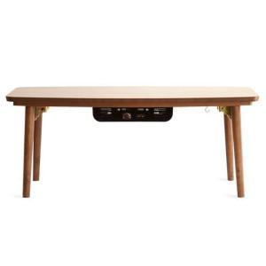 こたつテーブル 長方形 おしゃれ 90cm幅 木製 こたつ本体 コタツテーブル 炬燵 シンプル モダン リビングテーブル センターテーブル ミッドセンチュリー|air-r|07