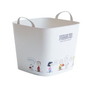 収納ボックス バスケット おもちゃ箱 ランドリーバスケット ピーナッツ スヌーピー キャラクター おしゃれ 洗濯カゴ 収納ケース おもちゃ 収納 Mサイズ|air-r|18