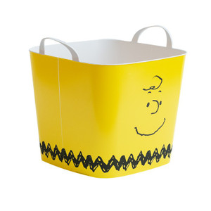 収納ボックス バスケット おもちゃ箱 ランドリーバスケット ピーナッツ スヌーピー キャラクター おしゃれ 洗濯カゴ 収納ケース おもちゃ 収納 Mサイズ|air-r|17