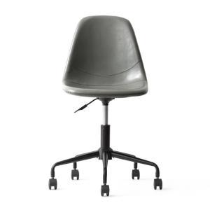 デスクチェア オフィスチェア おしゃれ パソコンチェア レザー 革 椅子 イス 回転 昇降式 キャスター付き ヴィンテージ インダストリアル ワークチェア|air-r|20