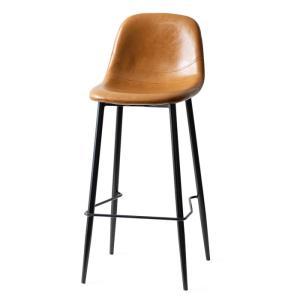 カウンターチェア バーチェア 2脚 おしゃれ レザー 背もたれ 椅子 イス ヴィンテージ インダストリアル ブルックリン カフェ ハイチェア|air-r|22