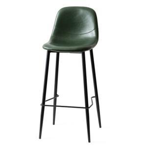 カウンターチェア バーチェア 2脚 おしゃれ レザー 背もたれ 椅子 イス ヴィンテージ インダストリアル ブルックリン カフェ ハイチェア|air-r|23
