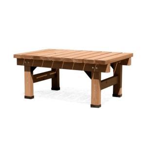 縁台 木製 おしゃれ 縁側 ウッドデッキ 90×58 天然木 ガーデンベンチ シンプル 縁台 庭 ベランダ ガーデン スリム90cm幅単体販売 送料無料 air-r 08